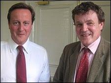 With David Cameron