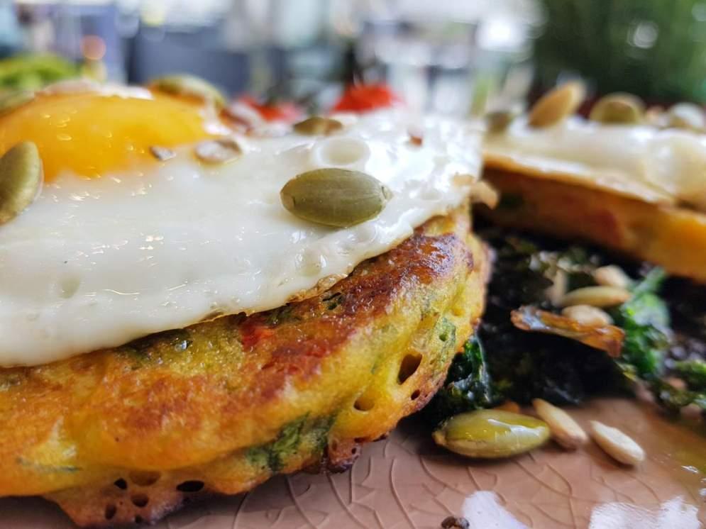 Chateau eggs with potato rosti