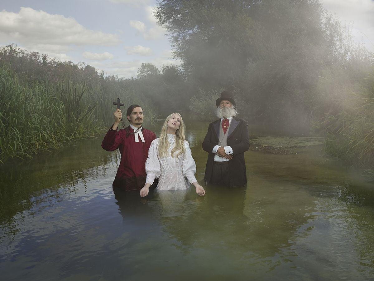 Old Father Thames, Baptism - Julia Fullerton-Batten