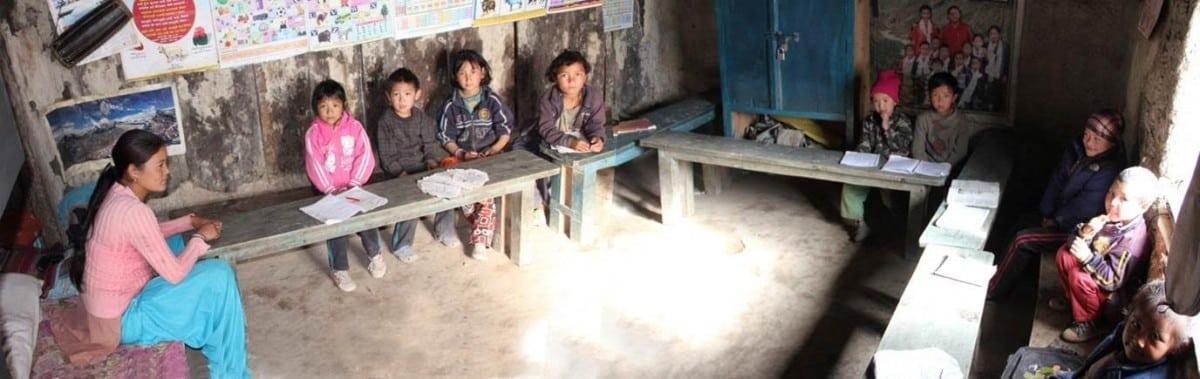 schoolroom in 2013