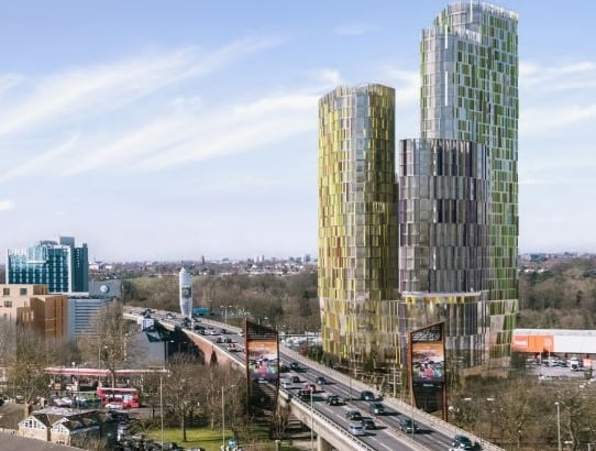 Chiswick-Curve 2 architect's CGI