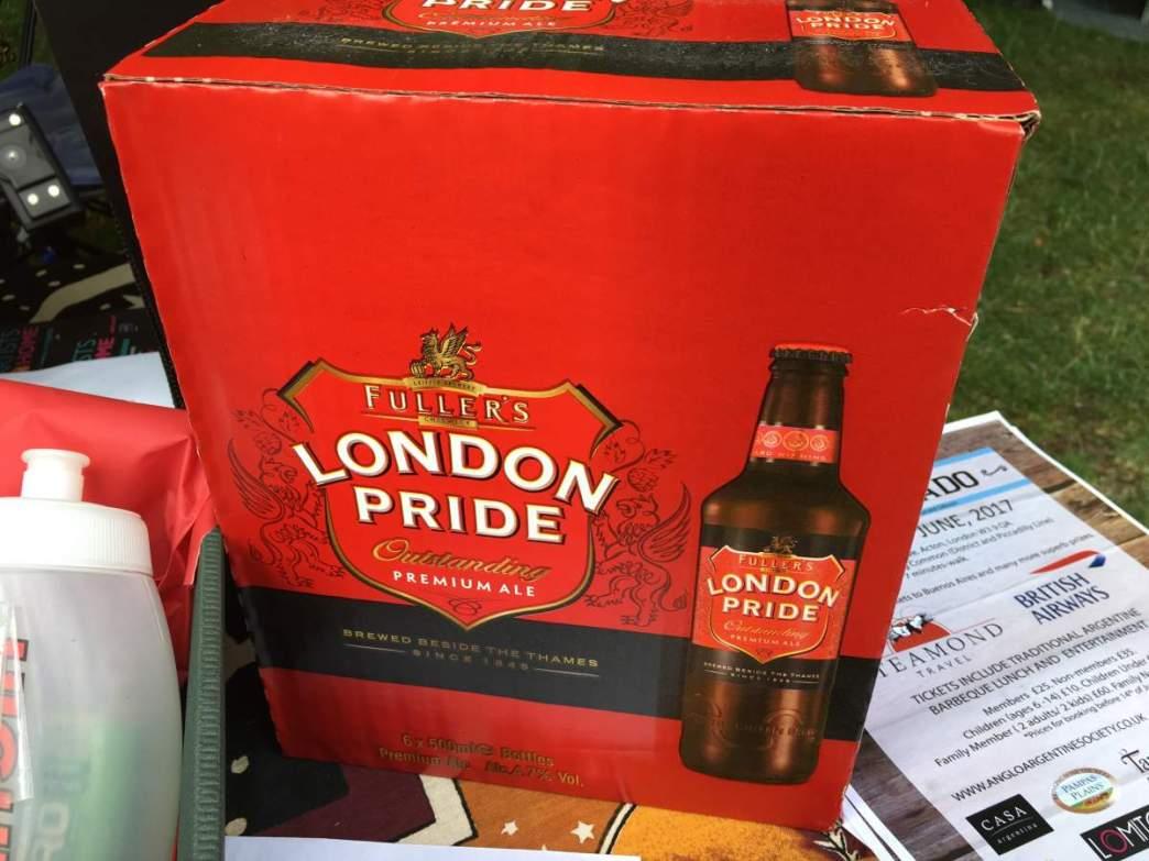 IMAGE - London Pride raffle prize