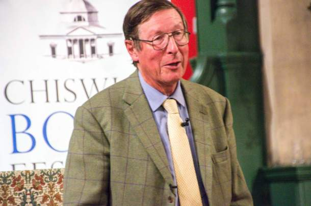 Journalist and Historian Max Hastings__web