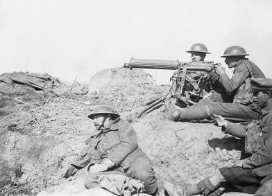 Vickers_machine_gun_in_the_Battle_of_Passchendaele_-_September_1917