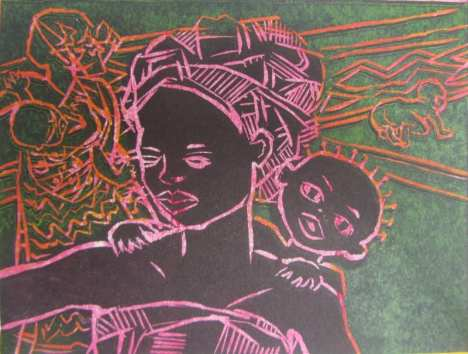 'African Baby' by Isobel Johnstone