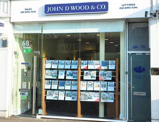 John D Wood, Chiswick shop image