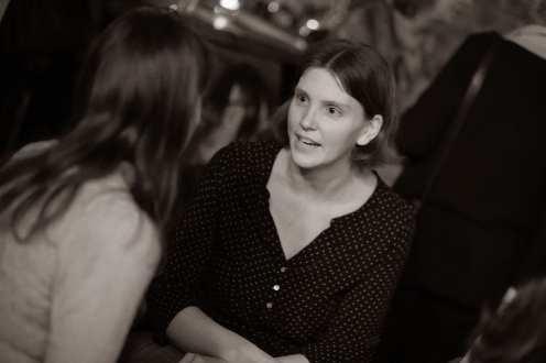 Anna Klerfalk, Intersaga literary agency