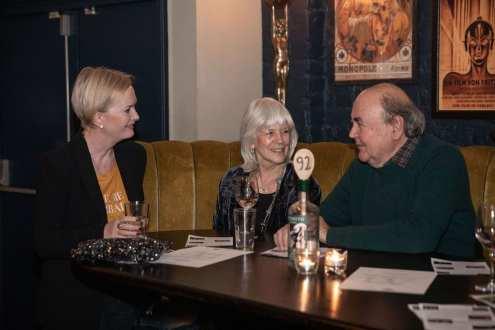 Steph Norbury, artist, with Suzanne Katkhuda, ceramicist
