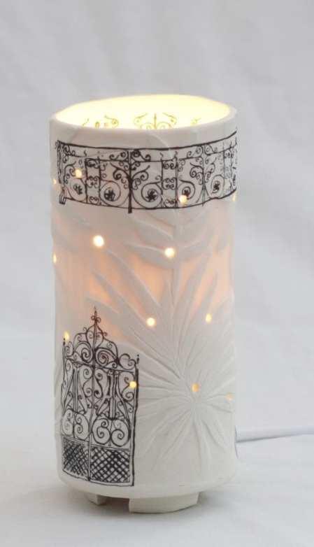 Porcelain Carved LED Lights By Gioilla Zordan