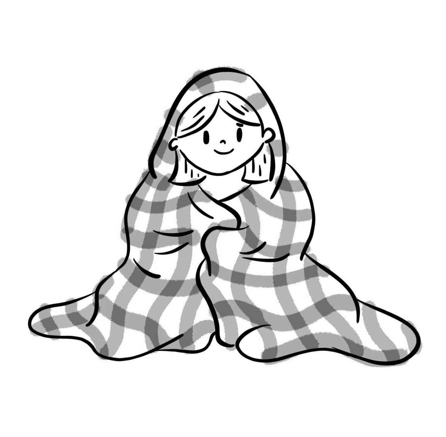Blanket B_W