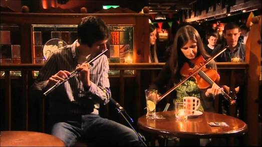 Irish music session