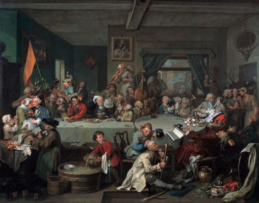 William-Hogarth-The-election-entertainment