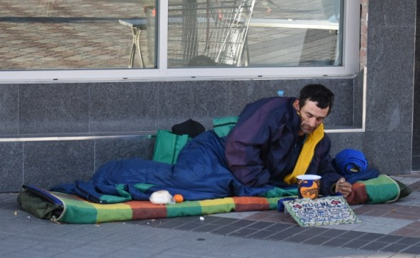 st mungos homeless man hornsby chiswick