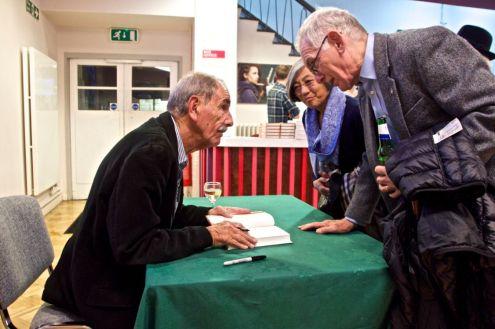 Author & Journalist Hunter Davies signing books