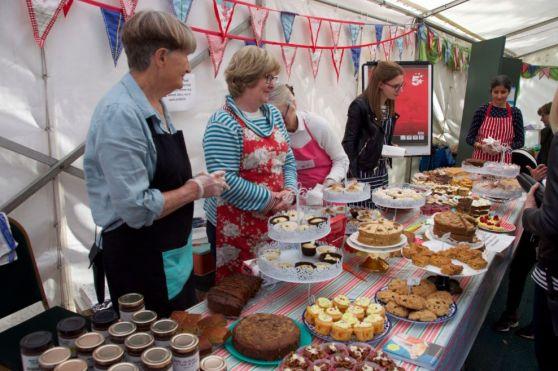 Book Festival cake stall
