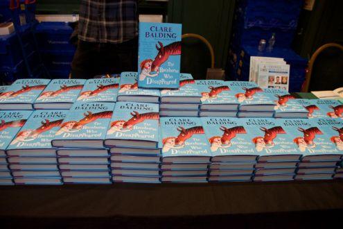 Broadcaster Clare Balding books