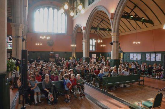 Children's author Jacqueline Wilson audience