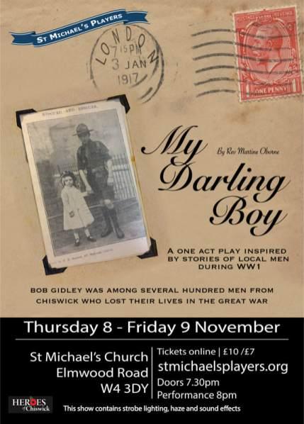 My Darling Boy poster