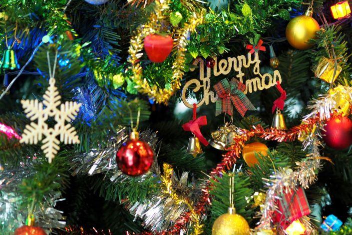 Christmas Tree Decoration Close-up