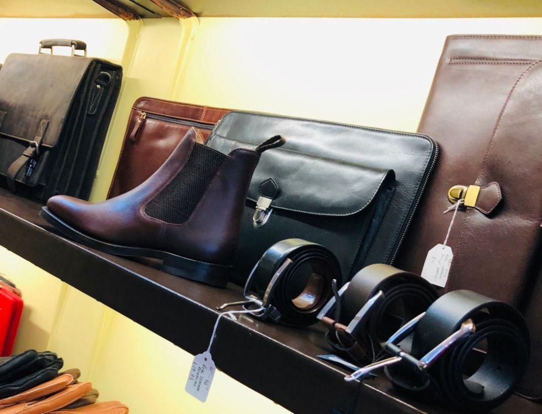 Elias & Grandsons bags, belts & boots