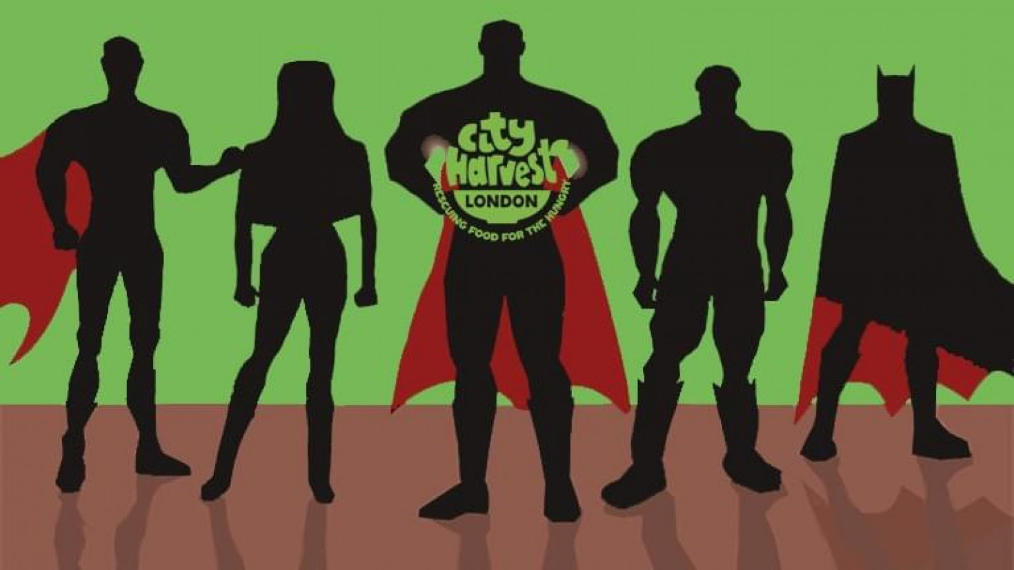 City Harvest caped crusaders