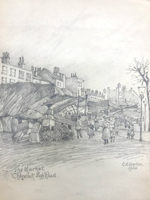 Chiswick Market drawing