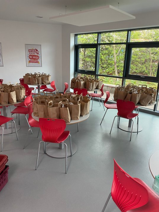 Chiswick School 3 - Food bags
