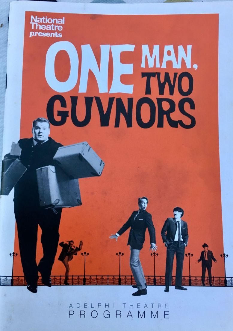 One Man Two Guvnors programme 1_web