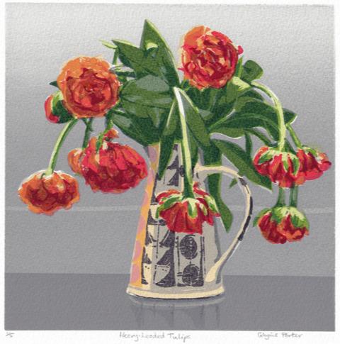 Glynis Porter 2019 'Heavy-headed Tulips'