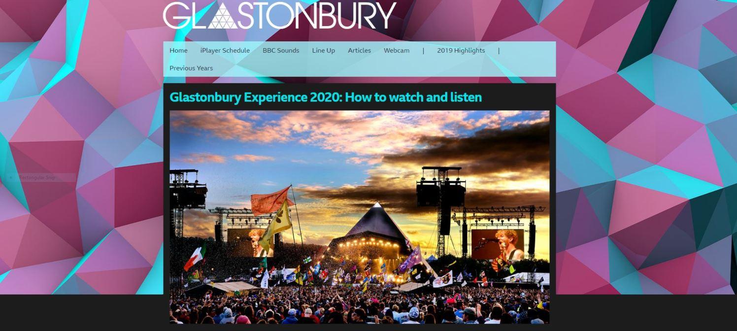 30 June Glastonbury