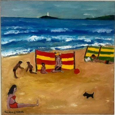 Allan Storer - Family Day St Ives (Unframed)