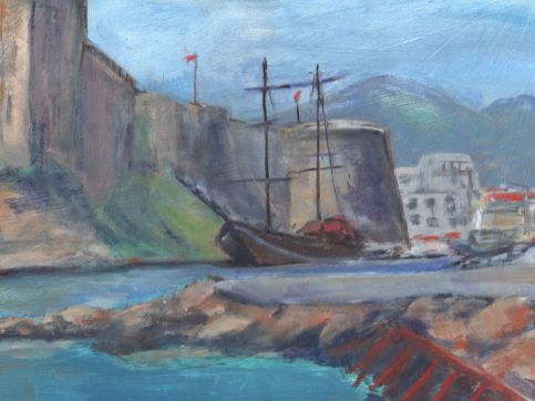 Ann Whitehead - Kyrenia Harbour
