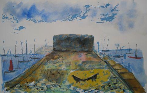 Anne Evans - Yesterdays Defence (Aldburgh)