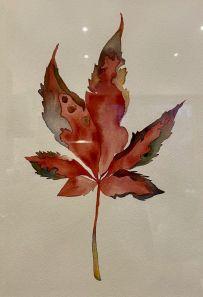 Binky Sellers - Autumn Leaf (Unframed)