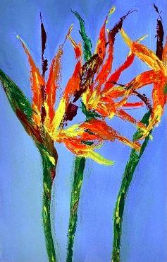 Harnake Hunspal - Bird of Paradise (Unframed)