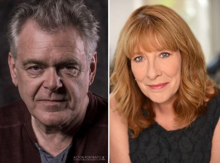 Phyllis Logan & Kevin McNally