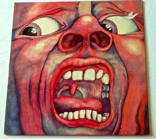 7 July King Crimson front cover