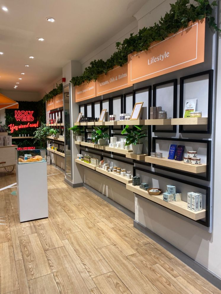 Beleaf Chiswick products on shelves