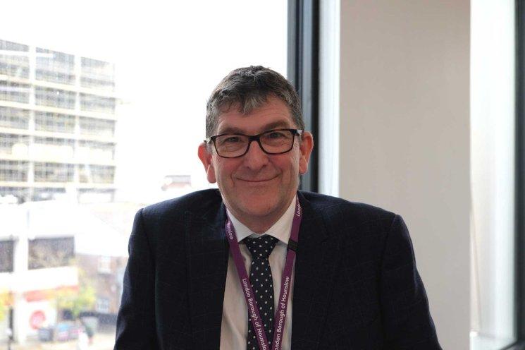 Niall Bloger, Hounslow Chief Executive