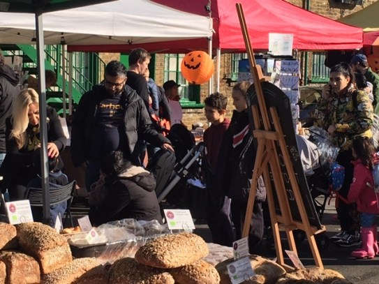 Halloween at Food Market Chiswick