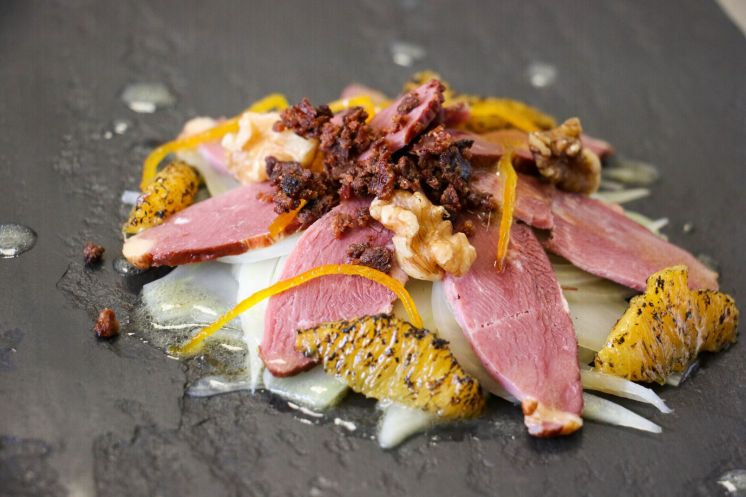 Smoked duck with walnuts_web