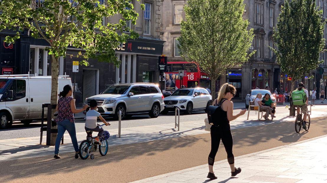 Sauchiehall Street Glasgow by Urban Movement_web