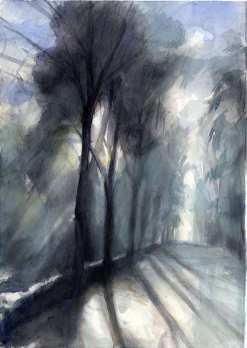 January Light by Christine Berrington