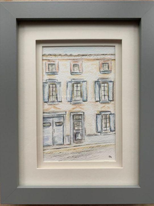 Angela 3 - Drawing of Angela and Jim's house