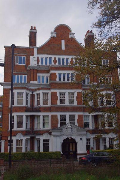 EM Forster's flat, Arlington Mansions