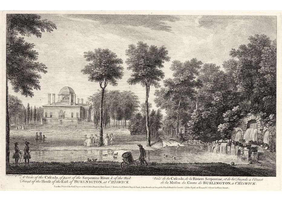 1.62 View of the Cascade by Donowell, 1753 (1)