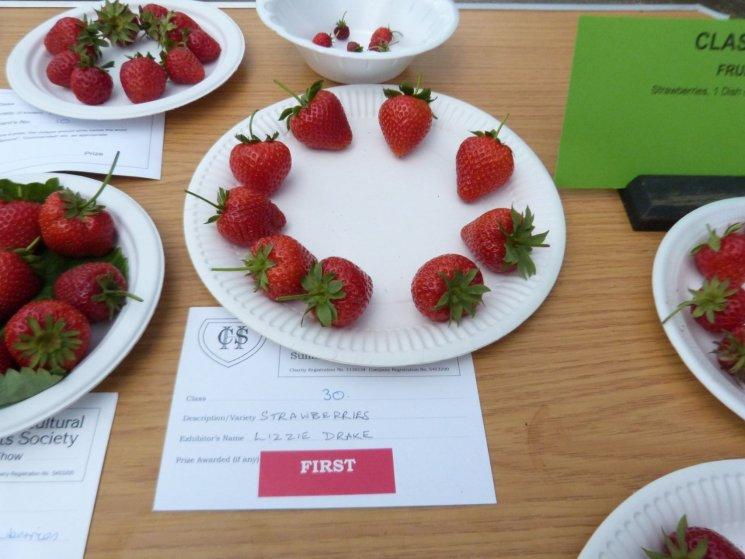 CHAS - Winning strawberries