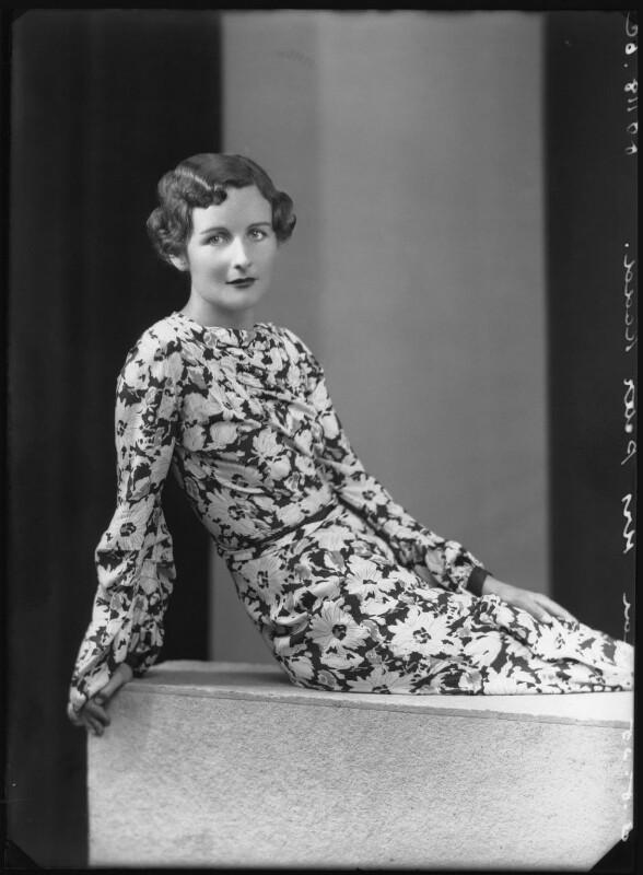 Nancy-Mitford by Bassano Ltd 5 August 1935