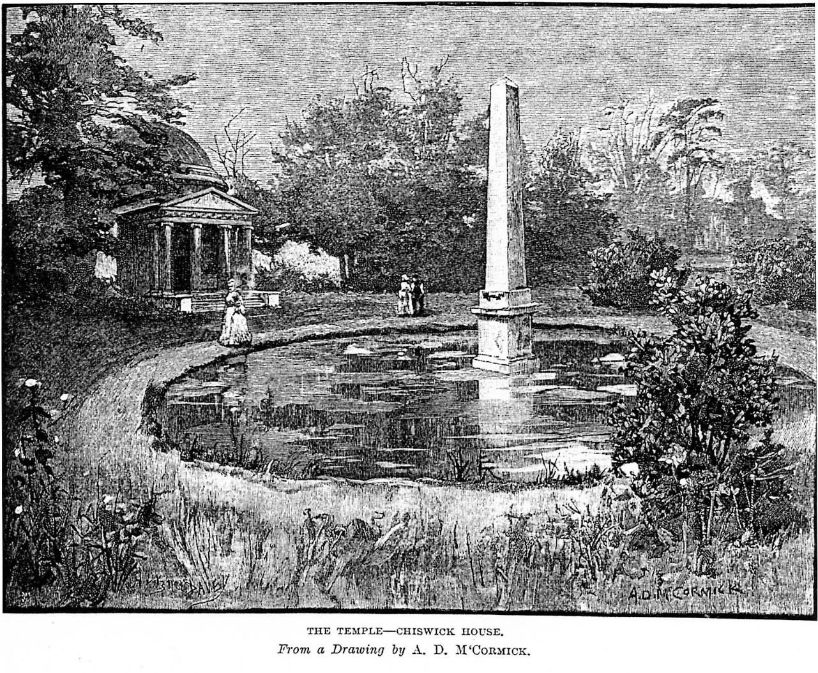 Picture 4 The orangery garden, or amphitheatre, in the 19th century (1)