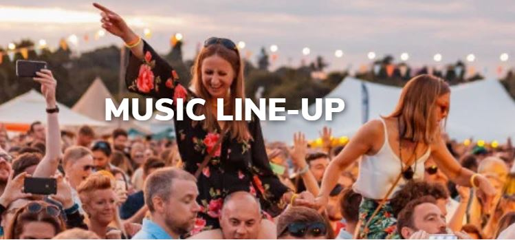 Music line-up 2